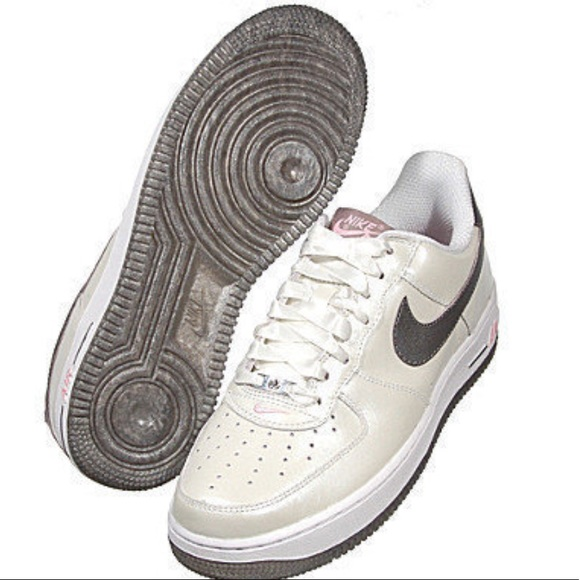 Nike Shoes Womens Air Force 1 Whitepewterpink Sz 6 Poshmark
